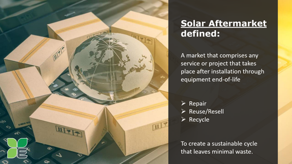 Find replacement solar panels in the aftermarket