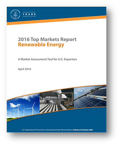 ITA Top Markets Report Renewable Energy