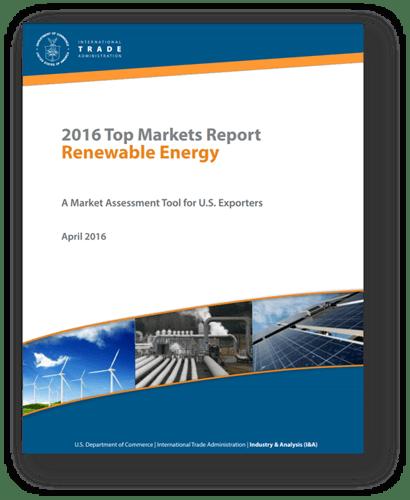ITA Top Markets Report Renewable Energy