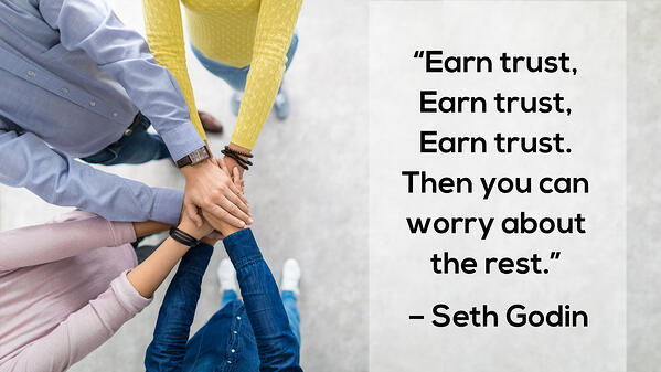 Earn Trust quote