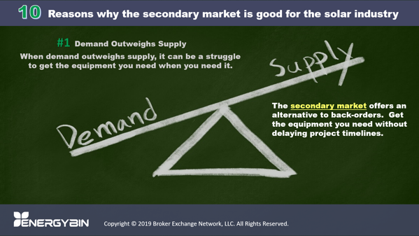 10 Reasons why the secondary market is good for the solar industry_1