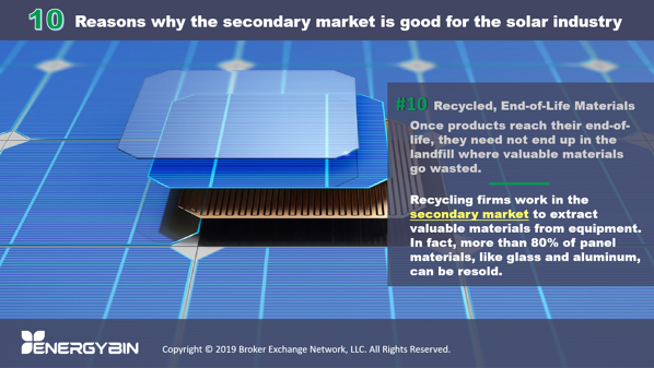 10 Reasons why the secondary market is good for the solar industry_10