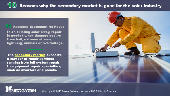 10 Reasons why the secondary market is good for the solar industry_4