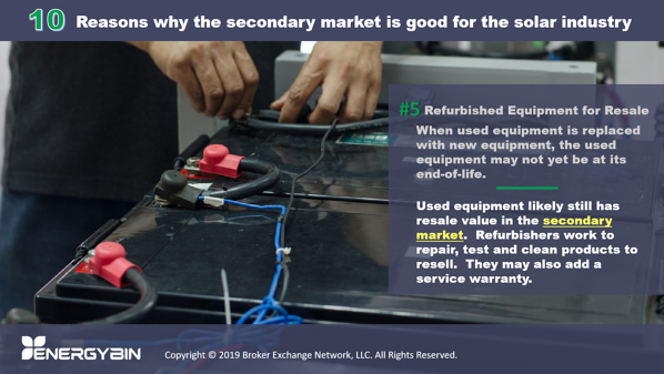 10 Reasons why the secondary market is good for the solar industry_5