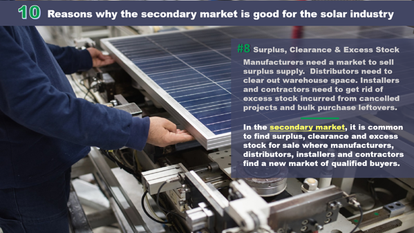 10 Reasons why the secondary market is good for the solar industry_8